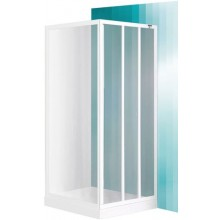 ROLTECHNIK SANIPRO LD3/900 sprchové dveře 900x1800mm posuvné, bílá/grape