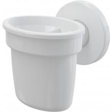 CONCEPT nálevka s kuličkou pro odkapávající kondenzát, bílá