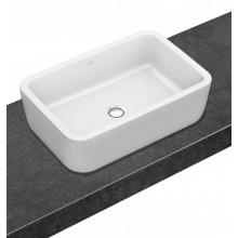 VILLEROY & BOCH ARCHITECTURA umyvadlo 600x400mm k postavení na desku, bez přepadu Bílá Alpin CeramicPlus 412761R1
