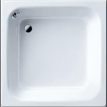 KALDEWEI SANIDUSCH 496 sprchová vanička 900x900x250mm, ocelová, obdélníková, bílá