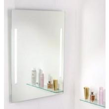AMIRRO LUMINA WHITE zrcadlo 60x80cm, s osvětlením