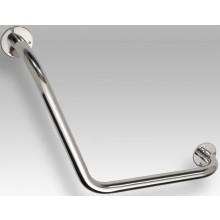 Doplněk madlo GOZ METAL úhlové držadlo 120° P =L 400 x 400 mm nerez-tvarovaný