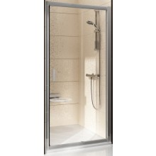 Zástěna sprchová dveře Ravak sklo BLIX BLDP2-100 1000x1900mm bright alu/grape