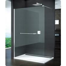Zástěna sprchová boční Ronal sklo PUR 1400x2000 mm chrom/čiré AQ