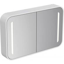 Nábytek zrcadlová skříňka Ideal Standard Dea s osvětlením 100x15x65cm lesklý lak bílý