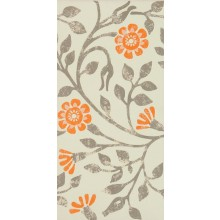 MARAZZI COVENT GARDEN dekor 18x36cm ivory/brown/orange