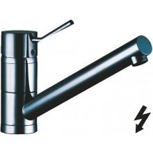KLUDI D-TAIL dřezová baterie DN15 stojánková, páková, nízkotlaká, chrom
