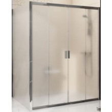 RAVAK BLIX BLDP4 150 sprchové dveře 1500x1900mm, čtyřdílné, posuvné, alubright/grape