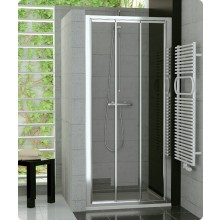 SANSWISS TOP LINE TOPS3 sprchové dveře 800x1900mm, třídílné posuvné, bílá/čiré sklo Aquaperle