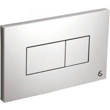 IDEAL STANDARD KARISMA ovládací deska 230x146mm, pneumatická, plast, chrom
