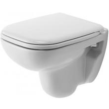 WC závěsné Duravit odpad vodorovný D-Code s splach. 350x480 mm bílá