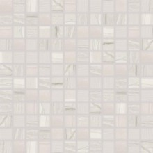 RAKO BOA mozaika 30x30cm, lepená na síťce, světle šedá