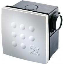 VORTICE QUADRO MICRO 100 I ventilátor 25/33W, dvourychlostní, se zpětnou klapkou, bílá