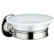 AXOR MONTREUX miska na mýdlo, leštěný nikl/porcelán 42033830