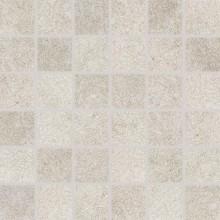 RAKO GROUND mozaika 30x30cm, lepená na síťce, světle šedá
