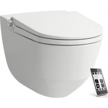 LAUFEN CLEANET RIVA WC závěsný 395x600mm, Rimless s bidetovou sprškou, bílá/LCC
