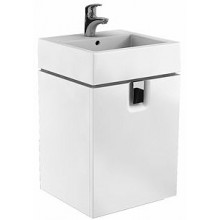 KOLO TWINS skříňka pod umyvadlo 50x57cm závěsná, lesklá bílá 89495000