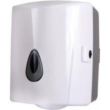 SANELA SLDN02 zásobník na papírové ručníky v rolích, 260x130x300mm, plast ABS, bílá