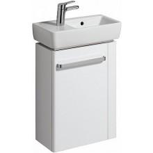 KERAMAG RENOVA NR. 1 COMPRIMO NEW skříňka pod umývátko 44,8x60,4x22,2cm, závěsná, s držákem na ručník vpravo, bílá matná/bílá lesklá 862050000