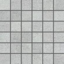 Dlažba Rako Cemento mozaika 5x5 (30x30) cm šedá