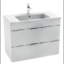 JIKA CUBE skříňka s umyvadlem 800x340x607mm, bílá/bílá 4.5376.2.176.300.1