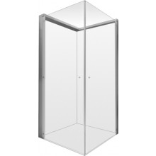 DURAVIT OPENSPACE sprchová zástěna 885x885mm chrom/čiré sklo 770002000100000
