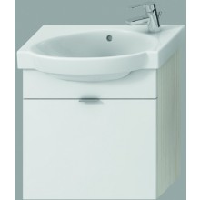 JIKA TIGO skříňka s umyvadlem 520x270x520mm s 1 zásuvkou, creme/bílá 4.5512.7.021.991.1