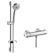 HANSGROHE CROMA SELECT S VARIO sada ruční sprcha/termostatická baterie Ecostat Comfort chrom 27014400