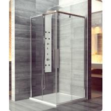 Zástěna sprchová dveře Ronal sklo Pur Light S PLSE2 D 100 50 07 1000x2000 mm aluchrom/čiré AQ