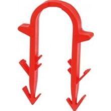 TECE jehlové svorky 60mm, červená