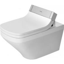 WC závěsné Duravit odpad vodorovný SensoWash DuraStyle 37x62 cm bílá+WonderGliss