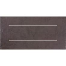 Dlažba Rako Clay pruhy 30x60 cm hnědá