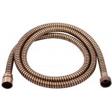 RAV SLEZÁK sprchová hadice 150cm, jednozámková, kov, stará mosaz