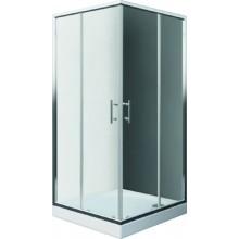 EASY SET ELS2 800 B sprchový kout a ELS 800 sprchová vanička 800x1900mm bílá/transparent