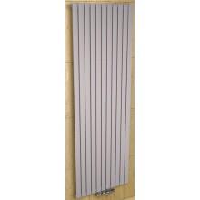 CONCEPT 200 LYRA radiátor koupelnový 1183W designový, středové připojení, sněhově bílá