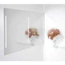 Nábytek zrcadlo Amirro Lumina Duo White s osvětlením 140x70 cm
