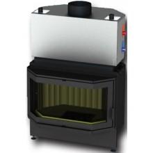KRETZ B 101 V10 krbová vložka 7-11kW, teplovodní, s ohýbaným prizmatickým sklem