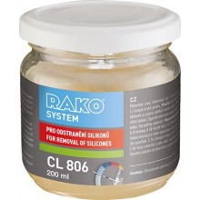 RAKO SYSTEM CL 806 odstraňovač silikonu 0,2l, na obklady a dlažby