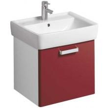 Nábytek skříňka pod umyvadlo Keramag Renova Nr.1 Plan 53x46,3x44,5 cm bílá/lesklá rubínová
