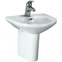 Umývátko klasické Laufen s otvorem Living 45 cm bílá+wondergliss