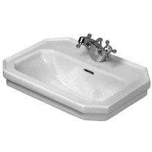 Umývátko klasické Duravit s otvorem 1930 50x36cm bílá/wondergliss