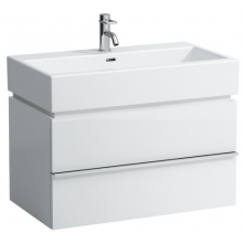 LAUFEN CASE skříňka pod umyvadlo 790x455x455mm se 2 zásuvkami, bílá lesk 4.0124.2.075.464.1