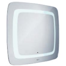 NIMCO 7001-S zrcadlo LED s osvětlením se senzorem 800x650mm chrom ZP 7001-S