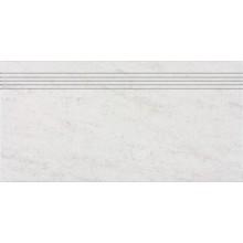 RAKO PIETRA schodovka 30x60cm, světle šedá