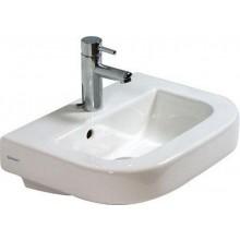 DURAVIT HAPPY D umývátko 460x345mm, s otvorem, bílá