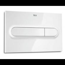 ROCA PL1 DUAL tlačítko pro podomítkový modul 250x14x160mm bílá 7890095000