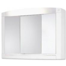 JOKEY SWING zrcadlová skříňka 76x58cm s osvětlením, bez zářivky, plast