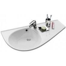 RAVAK AVOCADO COMFORT umyvadlo 950x530x124mm, pravé, s otvorem a přepadem, bílá/litý mramor