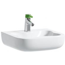 LAUFEN FLORAKIDS umývátko 450x410mm s otvorem bílá/ zelená