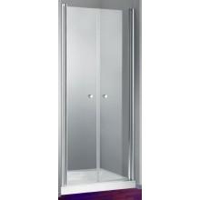 HÜPPE DESIGN 501 ELEGANCE PTN 1000 lítací dveře 1000x1900mm pro niku, stříbrná matná/privatima anti-plague 8E1303.087.375